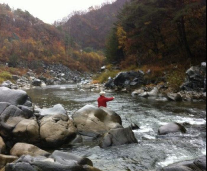 Flyfishing in Korea